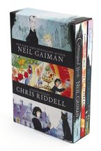 Neil Gaiman/Chris Riddell 3-Book Box Set Paperback  by Neil Gaiman