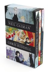 Neil Gaiman/Chris Riddell 3-Book Box Set