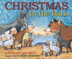 Christmas in the Barn book image