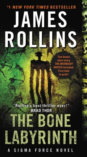 The Bone Labyrinth Paperback  by James Rollins