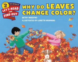 Why Do Leaves Change Color? book image
