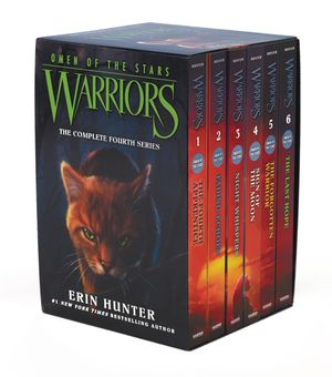 Warriors: Omen of the Stars Box Set: Volumes 1 to 6 book image