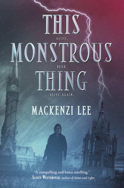 Image result for this monstrous thing cover