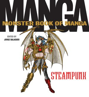 The Monster Book of Manga Steampunk Gothic book image
