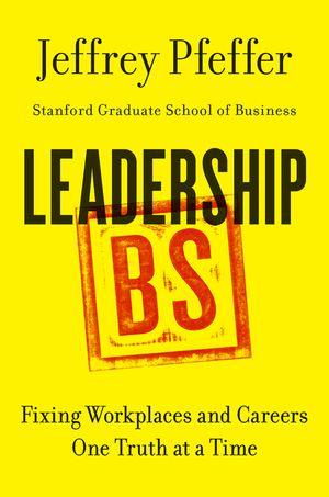 Leadership BS book image