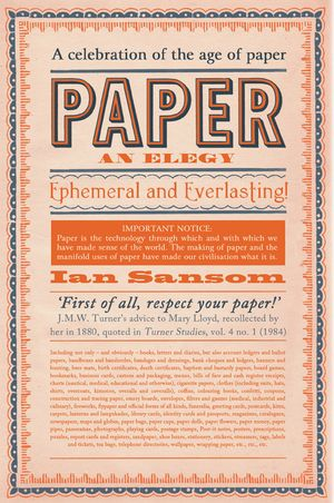 Paper book image