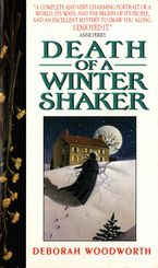 Death of a Winter Shaker eBook  by Deborah Woodworth