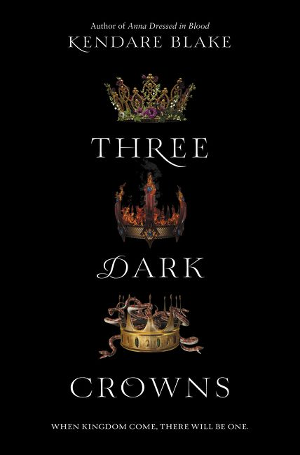 Image result for three dark crowns book cover