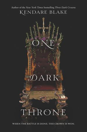 One Dark Throne book image