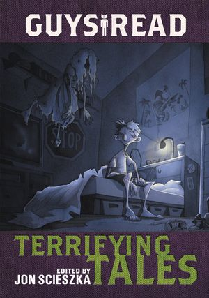 Guys Read: Terrifying Tales book image