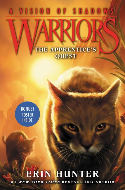 Simple Book Cover Quest : Warriors a vision of shadows the apprentice s quest