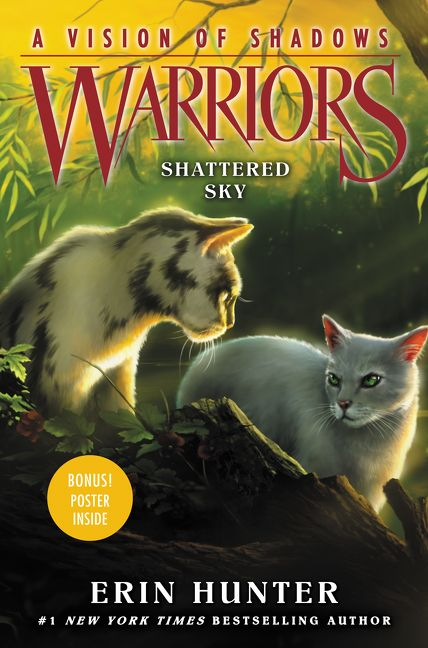 Warrior Cats Vision Of Shadows Shattered Sky