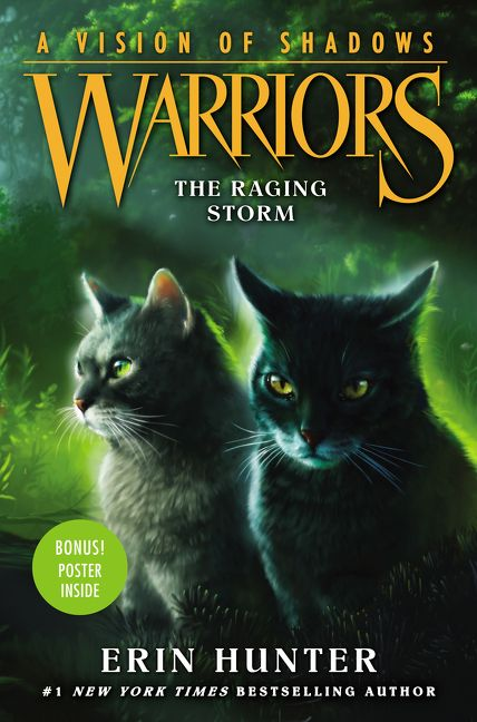 Warriors A Vision Of Shadows 6 The Raging Storm Erin Hunter