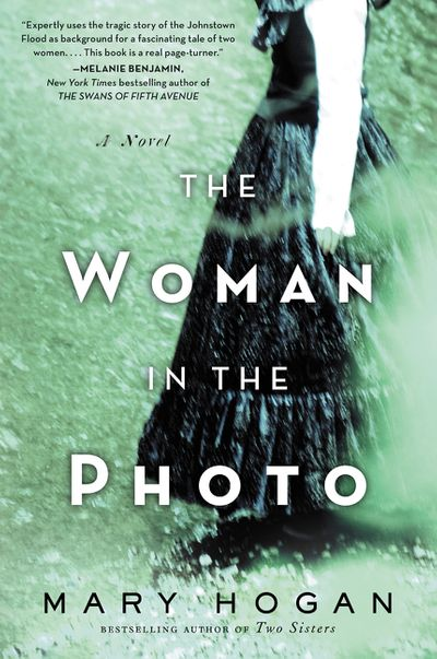 The woman in the photo book cover