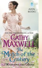 The Match of the Century Paperback  by Cathy Maxwell