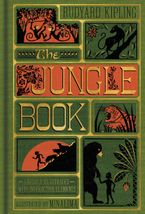 The Jungle Book (Illustrated with Interactive Elements) Hardcover  by Rudyard Kipling