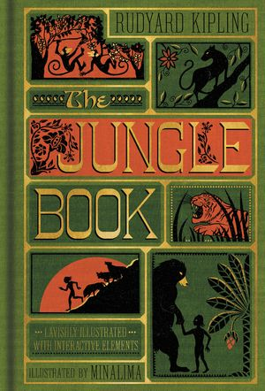 The Jungle Book (Illustrated with Interactive Elements) book image