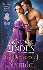 Six Degrees of Scandal Paperback  by Caroline Linden
