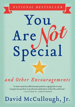 You Are Not Special book image