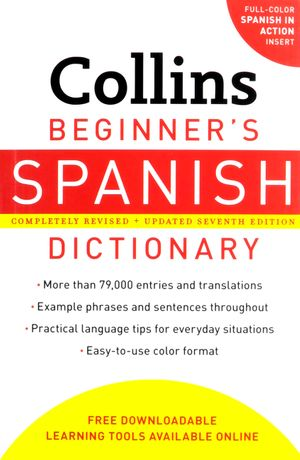 Collins Beginner's Spanish Dictionary, 7th Edition book image