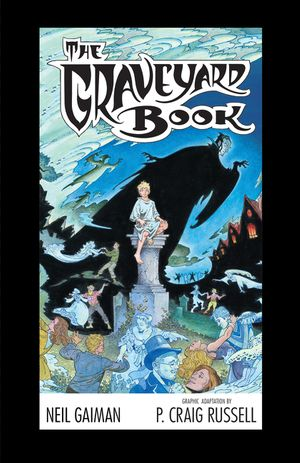The Graveyard Book Graphic Novel Single Volume Special Limited Edition book image