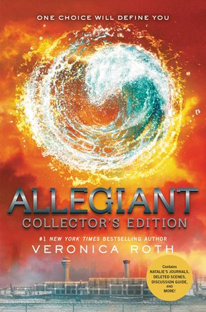 Allegiant Collector's Edition book image