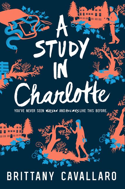 Modern Book Cover Quotes ~ A study in charlotte brittany cavallaro hardcover