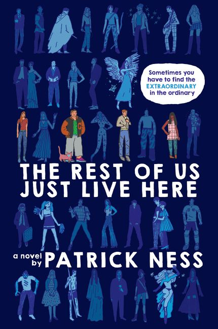 Image result for The Rest of Us Just Live Here by Patrick Ness