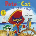 Pete the Cat and the Treasure Map Paperback  by James Dean