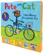 Pete the Cat Take-Along Storybook Set Paperback  by James Dean