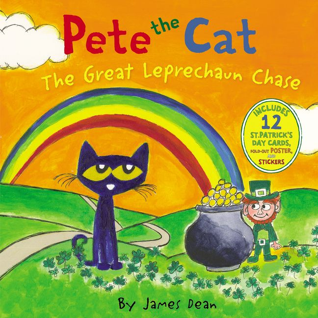 Pete the Cat: The Great Leprechaun Chase - James Dean - Hardcover