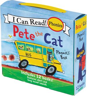 Pete the Cat 12-Book Phonics Fun!