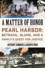 A Matter of Honor Hardcover  by Anthony Summers