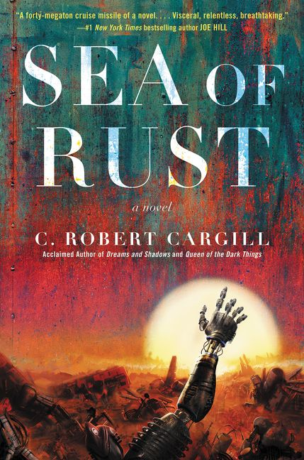 Image result for book cover sea of rust