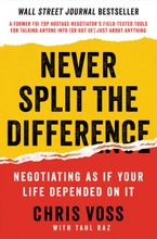 Never Split the Difference Hardcover  by Chris Voss