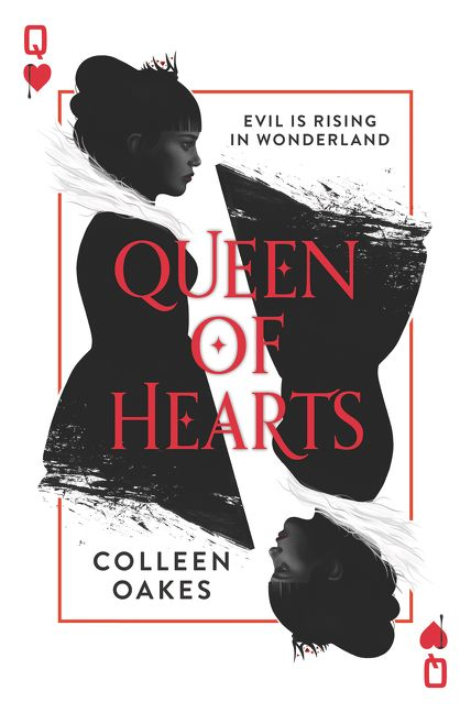 Cool Book Cover Queen : Queen of hearts colleen oakes hardcover