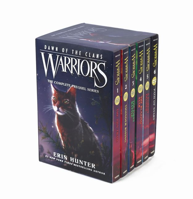 Warriors Erin Hunter Book Review: Warriors: Dawn Of The Clans Box Set: Volumes 1 To 6