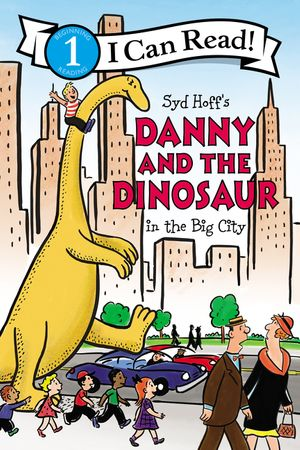 Danny and the Dinosaur in the Big City book image