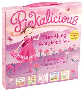 The Pinkalicious Take-Along Storybook Set