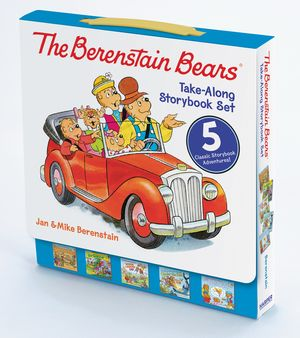 The Berenstain Bears Take-Along Storybook Set book image