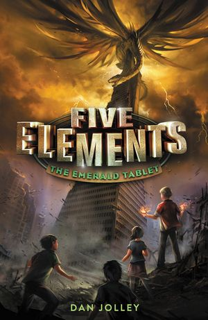Five Elements #1: The Emerald Tablet book image