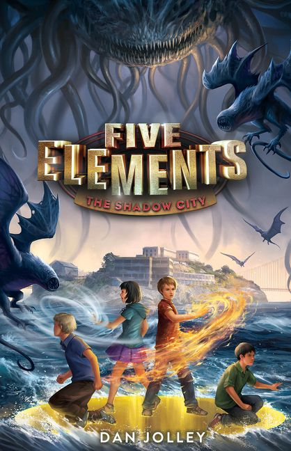 five elements 2 the shadow city dan jolley hardcover