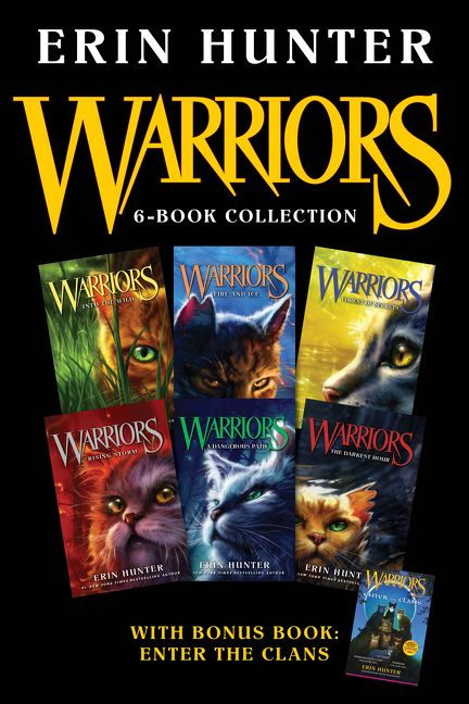 Warriors 6 Book Collection With Bonus Book Enter The