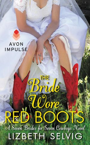 The Bride Wore Red Boots book image