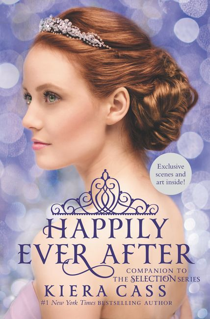 Image result for kiera cass happily ever after cover book cover image