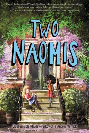 Two Naomis book image