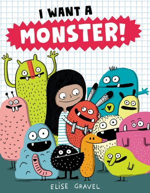 I Want a Monster! book image
