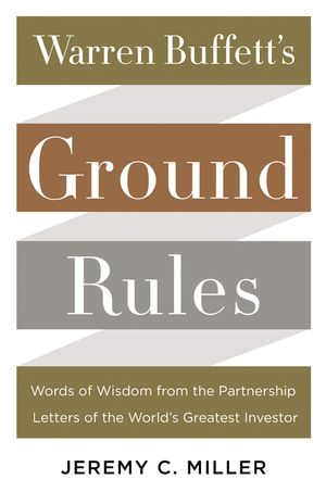Warren Buffett's Ground Rules book image
