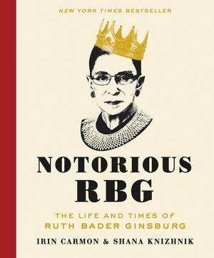 Notorious RBG book image