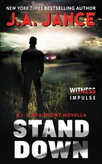 Stand Down Paperback  by J. A. Jance